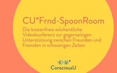 Jeden Donnerstag um 18:00: Kostenfreier FRND-Spoon Room zur gegenseitigen Unterstützung